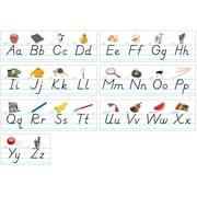 North Star Bulletin Board Sets, Alphabet Lines, Modern Manuscript