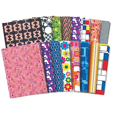 Roylco® Craft Papers, Retro Pop