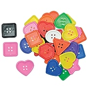 Roylco® Craft Accessories, Really Big Buttons™, 60/Pack