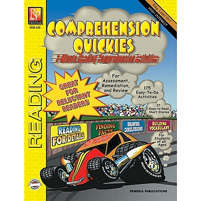 Remedia® Comprehension Quickies, Reading Level 1