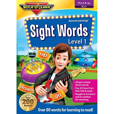 Rock 'N Learn® Sight Words Dvd, Level 1