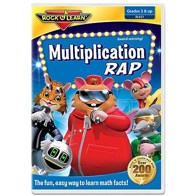 Rock 'N Learn® DVD Programs, Multiplication Rap
