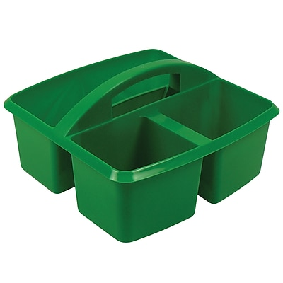 Romanoff Products Small Utility Caddy, Green, 2/Bd