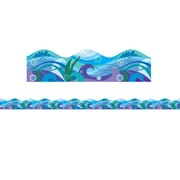 Scholastic Teaching Resources Waves Scalloped Trimmer (36 x 2.25) (SC-565392)