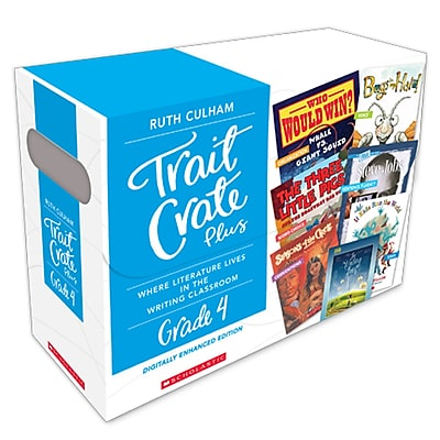 Scholastic Trait Crate Plus, Grade 4 (SC-583772)