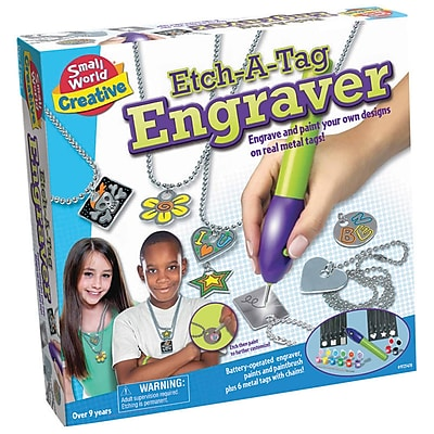 Small World Toys® Creative Toys - Etch-A-Tag Engraver