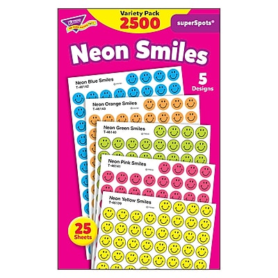 Neon Smiles superSpots® Variety Pack