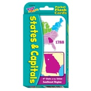 Trend® Games & Activities, States & Capitals Pocket Flash Cards