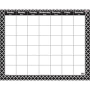 Trend Moroccan Black Wipe-Off® Calendar, Monthly (T-27023)