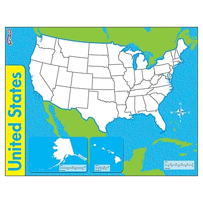 Trend Enterprises® United States, Wipe-Off® Map, 22