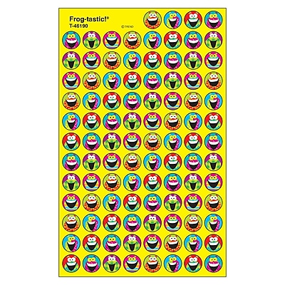 Frog-tastic!™ SuperSpots® Stickers