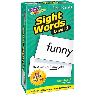 Trend® Skill Drill Flash Cards, Sight Words - Level 1