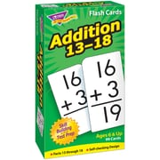 Flash Cards, Trend® Skill Drill, All Facts, Addition 13-18