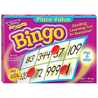 Bingo Games, Place Value