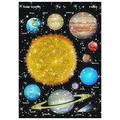 Trend® Sparkle Stickers®, Solar System