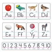 Manuscript Photo Alphabet, Zaner-Bloser, Bulletin Board Sets