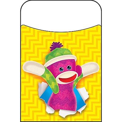Trend Enterprises® Sock Monkeys Terrific Pocket, 40/Pack