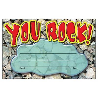 You Rock! Recognition Award 30/Pkg