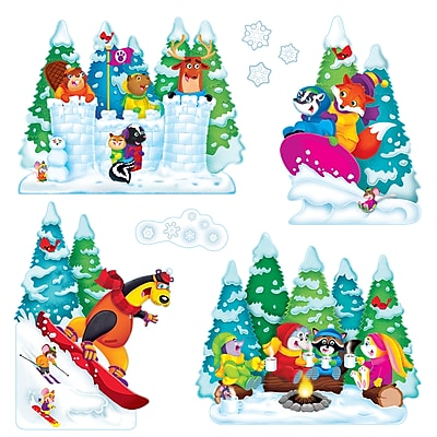 Trend Wonderful Winter Bulletin Board Set, 25/Set (T-8286)