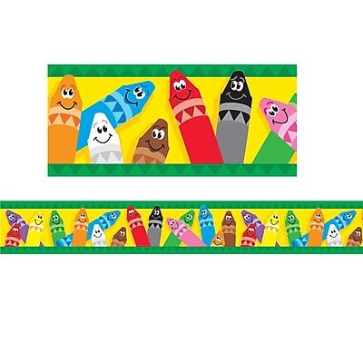 Bolder Borders®, Colorful Crayons