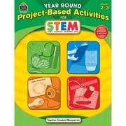 Teacher Created Resources® Yr Rnd Proj-Based Activities For Stem Book, Grades 2-3