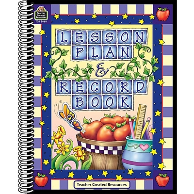 Lesson Plan & Record Book, 6 Subjects, 2 EA/BD