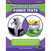 Nonfiction and Fiction Paired Texts Grade 4, Paperback (TCR3894)