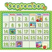 Teacher Created Resources Polka Dot School Calendar Bulletin Board Set, 65 pieces (TCR4188)