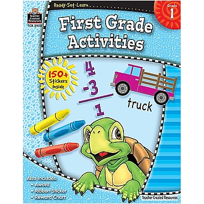 Teacher Created Resources Ready-Set-Learn, First Grade Activities