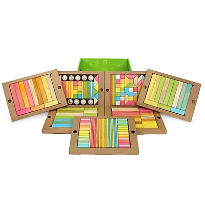 Tegu Magnetic Wooden Tints Classroom Kit, Assorted,