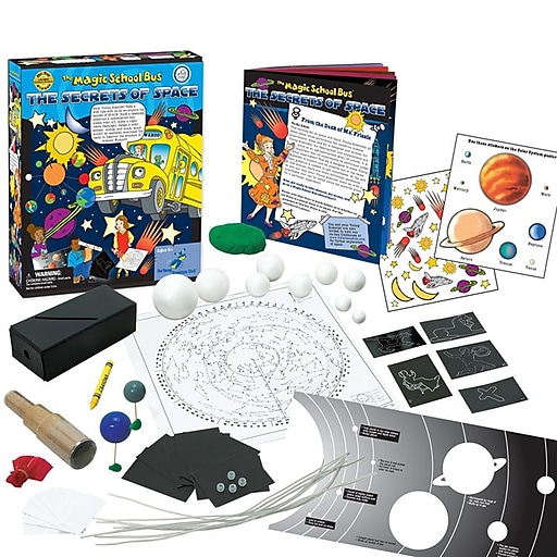 The Young Scientist Club™ The Magic School Bus Series The Secrets of Space Activity Kit