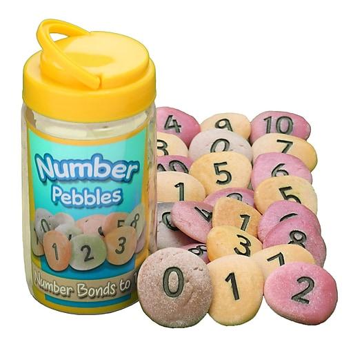 Yellow Door® Number Pebbles