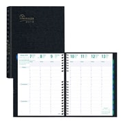 "Blueline® 2019 Timanager® CoilPro™ Weekly Planner, 11"" x 8-1/2"", 7-Day Planner, Black, English"