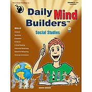 Critical Thinking Press™ Social Studies Daily Mind Builders Book, Grades 5th - 12th+ (CTB04603BBP)