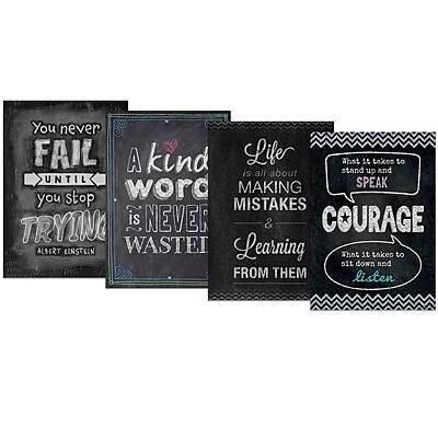 Creative Teaching Press Inspire U Chalk It Up! Pack 4 Charts, 4 Pack (CTP0564)