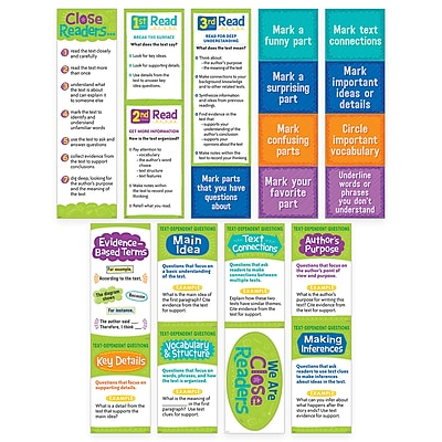 Creative Teaching Press Close Reading Mini Bulletin Board Set (CTP0608)