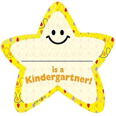 Creative Teaching Press® I'm a Kindergartner Star Badge, 36/Pack