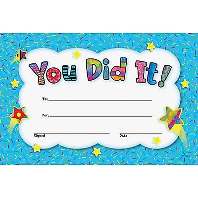 Creative Teaching Press® You Did It! Award, 30/Pack