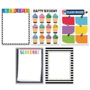 Creative Teaching Press Bold & Bright Classroom Essentials 5-Chart Pack (CTP2255)