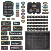 "Creative Teaching Press 24.25"" x 17.5"" Chalk It Up! Calendar Set Bulletin Board, Multicolor, (CTP4728)"