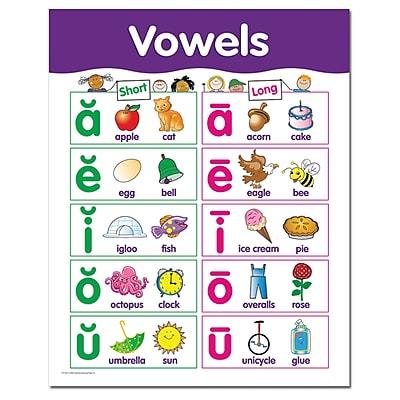 Vowels - Basic Skills Chart