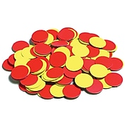 Learning Advantage™ Magnetic Two-Color Counters Manipulatives Set, Set of 200, 144/ST, 3 ST/BD