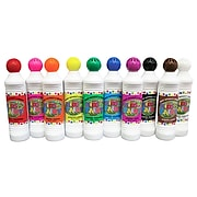 Crafty Dab Classic Kids Paint, Washable Scented Paint Markers, 1.45 oz, Pack of 10 (CV-75640)