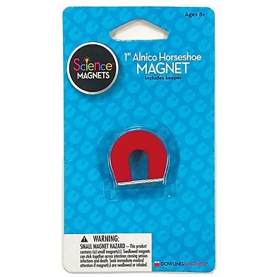 Dowling Magnets® Alnico Horseshoe Magnet, 1