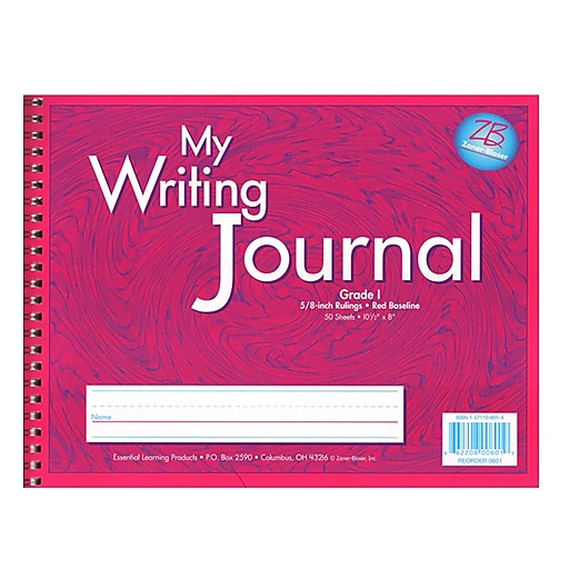 Zaner-Bloser® Writing Journals, Pink, Grade 1