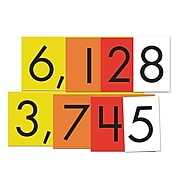 """Essential Learning Products® 4-Value Whole Numbers Place Value Card Set, 4"""", 40 Cards (ELP626642)"""