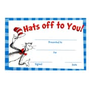 Eureka™ Dr. Seuss Products, Cat in the Hat™ Hats Off To You! Award