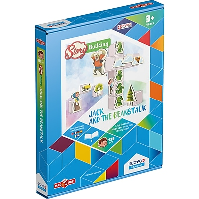 GeoMagWorld Magicube Story Building Jack & The
