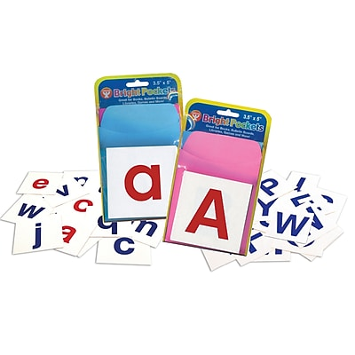 Hygloss Flash Cards, Alphabet Cards Combo Pack