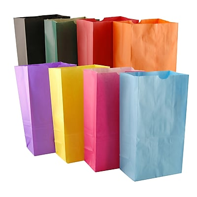 Hygloss Craft Bags, Bright Assorted